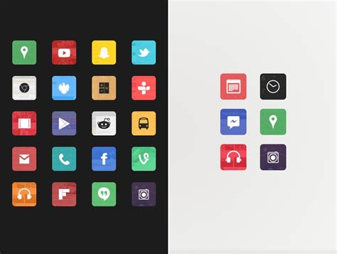 icon pack free android these 15 android icon packs will improve the looks of your homescreen