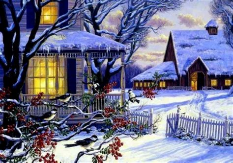 printable christmas village background winter village other abstract background wallpapers on