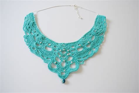 chandelier necklace how to crochet a chandelier necklace part 1