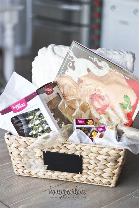 the ultimate cozy christmas gift basket honeybear lane
