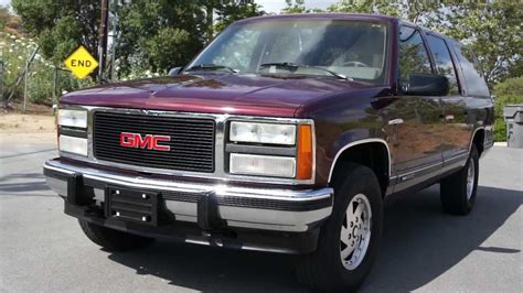 how to work on cars 1992 gmc suburban 2500 on board diagnostic system 1992 chevrolet suburban 1 owner 119k orig miles starcraft conversion youtube