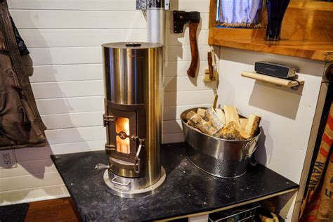 tiny house wood stove tiny house heating tips for wintering and staying warm in extreme cold climates
