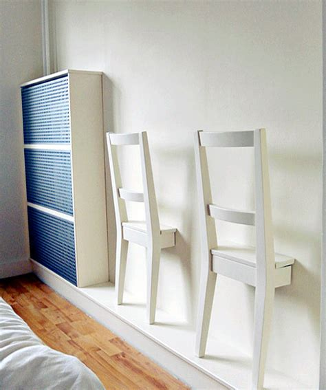 Hanging Folding Chairs On Wall by Treasure Chairs Design Sponge