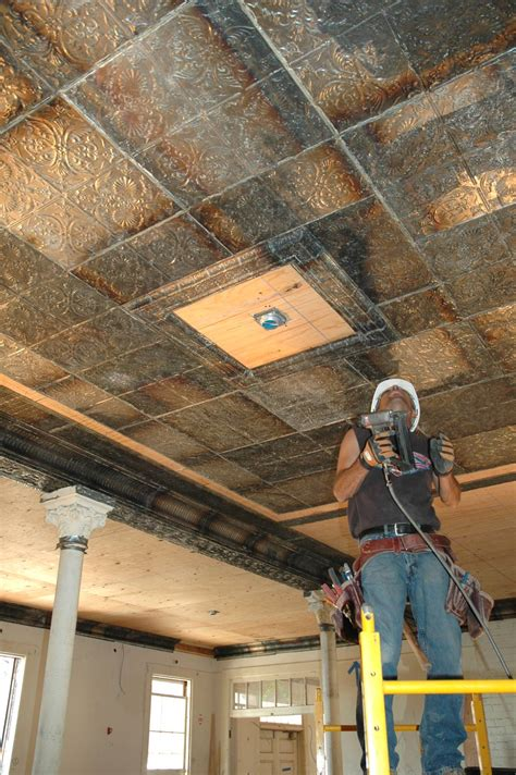 cheap metal ceiling tiles home lighting insight