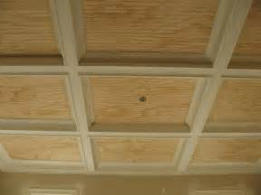 Coffered Drop Ceiling Panels Ceiling Idea With Beadboard Panels To Provide Easy Access