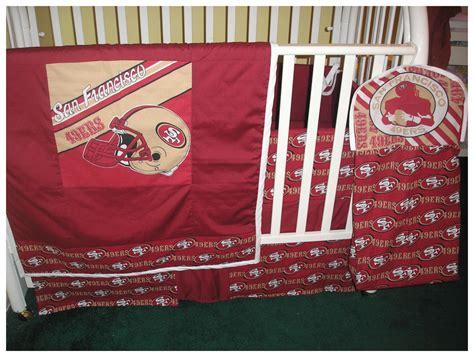 Nfl Crib Bedding New 9 Crib Bedding Set Made With Any Nfl Football Team