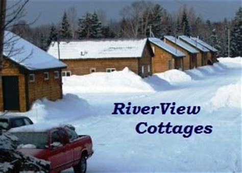 Riverview Cottages Jackman Maine maine snowmobile trail fishing vacation maine atv