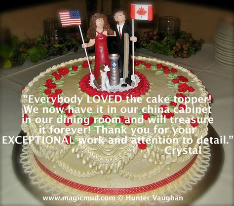 Wedding Cake Toppers Canada by Customer Testimonials