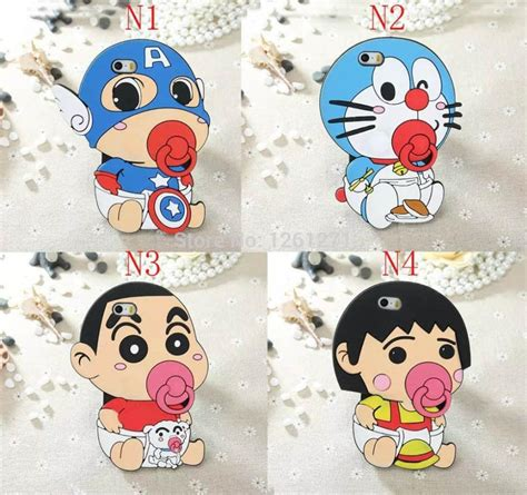 baby jelly doraemon for iphone new 3d soft silicone pacifier