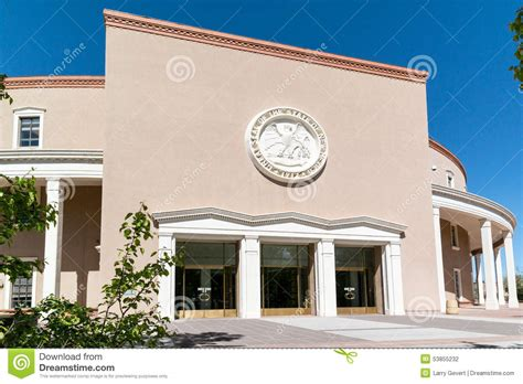 the new mexico state capitol building santa fe new new mexico state capitol santa fe stock photo image