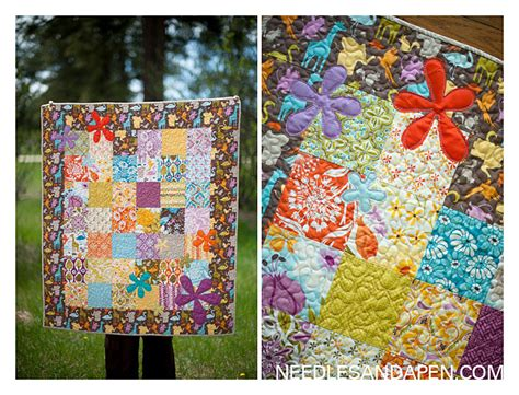 Quilt Central by Central Park Baby Quilt 187 Needles And A Pen