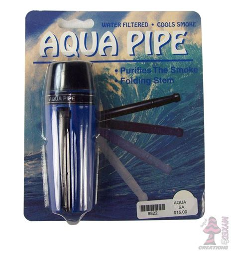 Aqua Blue Detox by Aqua Pipe Myxedup Glass Pipes Vaporizers E