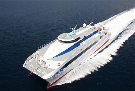 catamaran research ship austal delivers second high speed catamaran ferry austal