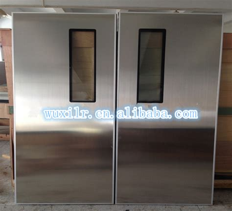 stainless steel hospital swing doors factory stainless steel swing door stainless