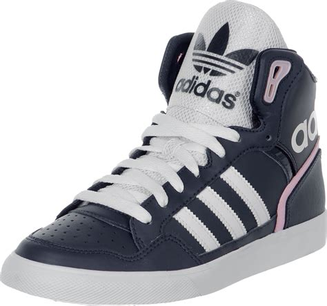 adidas extaball w shoes blue white pink