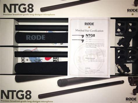 Rode Microphones Ntg8 rode ntg8 image 1455426 audiofanzine