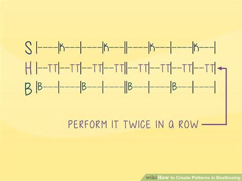 pattern simple beatbox 3 ways to create patterns in beatboxing wikihow