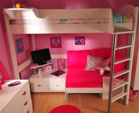 sofa for girls bedroom stompa casa 9 bunk bed with sofa bed girl bedrooms