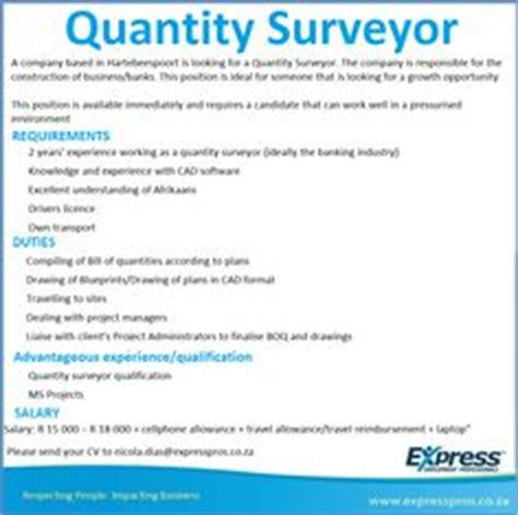 Experience Letter Format For Quantity Surveyor Pdf Cv Exles On