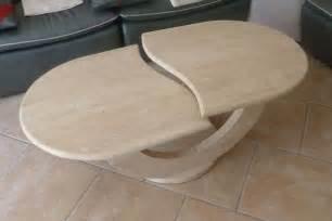table basse travertin clasf