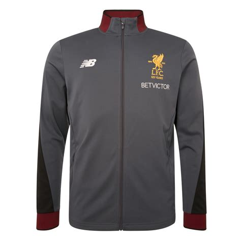 Hoodie Zipper Liverpool Nb 1 liverpool 17 18 new balance presentation jacket
