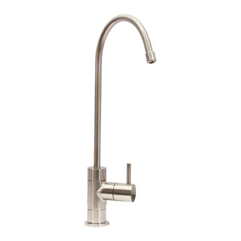 water filtration faucets kitchen single handle water filtration faucet in brushed