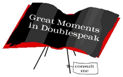 Doublespeak Essay by William Lutz Doublespeak Essay