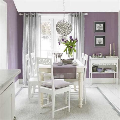 purple dining room plum and silver dining room dining rooms dining room ideas image housetohome co uk
