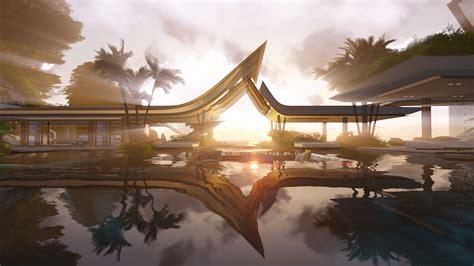 Villa Interior Design by The Water Pavilion By Martin Ferrero Architecture