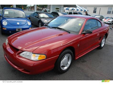1995 ford mustang v6 1995 laser metallic ford mustang v6 coupe 14938500