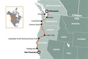 Car Hire San Francisco To Vancouver West Coast Usa Road Trip Travel Nation