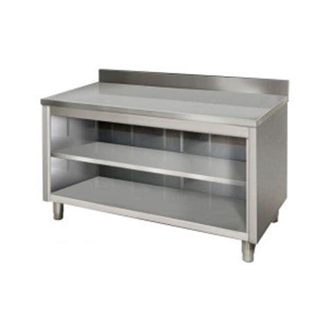 tavoli da professionali tavoli acciaio inox professionali da lavoro frecciainox