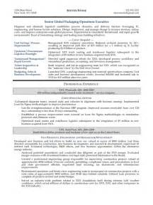 Manufacturing Executive Sle Resume by Executive Manufacturing Resume Careers Done Write