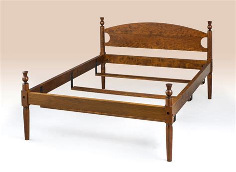 King Size Bed Frame Antique Style Low Four Poster Cherry Antique Style Bed Frame
