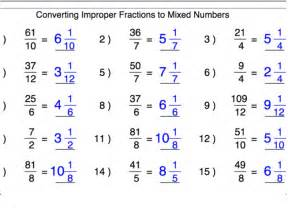 Showme results for improper fraction to simplest form