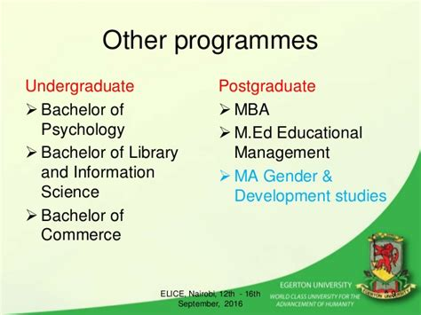 Mba Ma International Relations by Prof Fred Keraro Of Egerton Presents As Expert