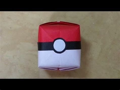How To Make An Origami Pokeball - 1000 ideas about boyfriend crafts on