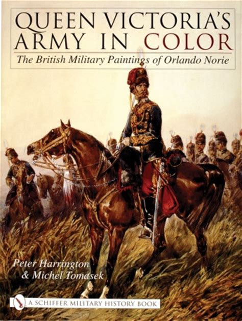 queen victorias army  color  british military