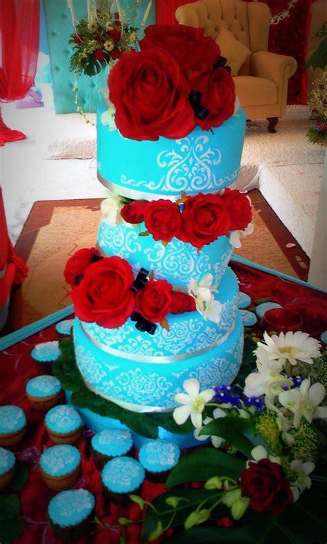 Wedding Cake Johor Bahru by Johor Bahru Artistique Cakes