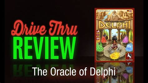 delphi oracle tutorial the oracle of delphi review drive thru review
