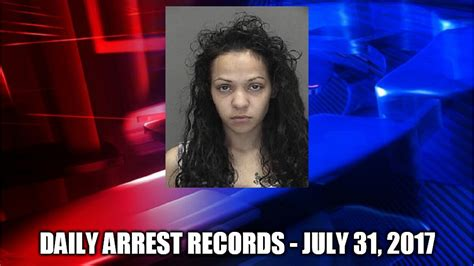 Brown County Wisconsin Court Records Green Bay Crime Reports Daily Arrest Records July 31 2017 Monday