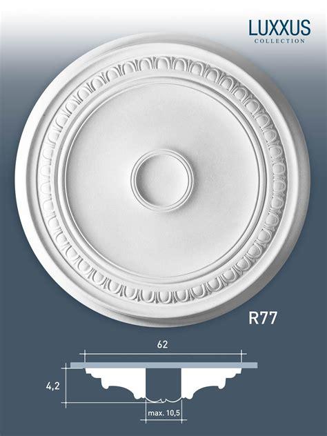 deckenrosette styropor deckenrosette medallion orac decor r77 luxxus stuck
