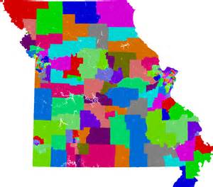 house of representatives district map missouri house of representatives redistricting