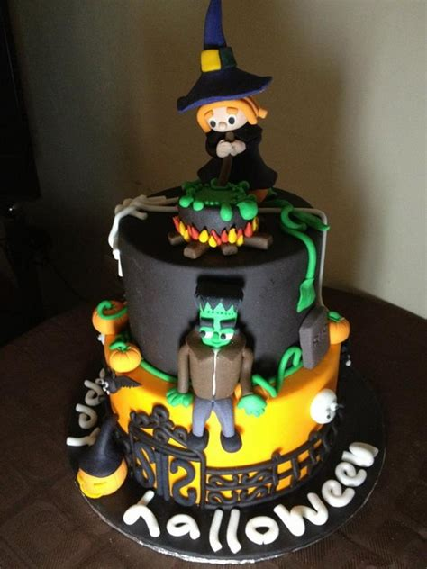 Halloween Cake Decorating - halloween creative cake decorating ideas