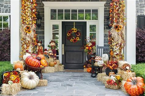 how to decorate porch for fall autumn porch fall decorating ideas decorating design