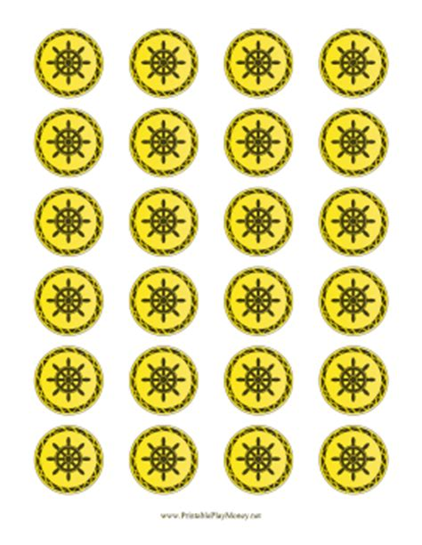 Gold Coin Printable