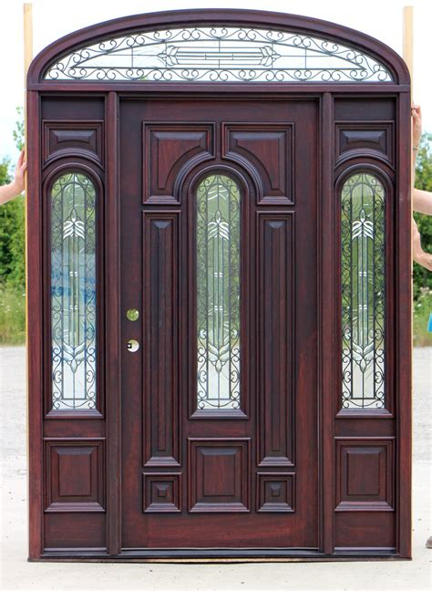 Exterior Door With Transom Exterior Doors Elliptical Transom