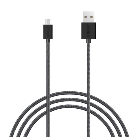 Orico Mdc 10 Mdc10 Strong Micro Usb Data Fast Charging White orico 3 3ft 1m strong braided micro usb charging