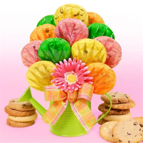 watering can gourmet cookie bouquet cookie bouquets