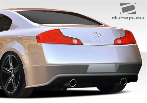 how to take bumper off 1994 infiniti g q50 jc styling carbon fiber rear bumper diffuser lip welcome to extreme dimensions inventory item 2003 2007 infiniti g coupe g35 duraflex sigma
